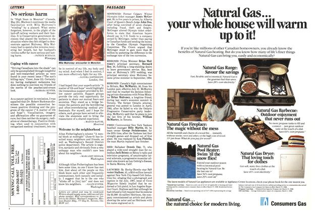 Article Preview: No serious harm, July 1988 | Maclean's