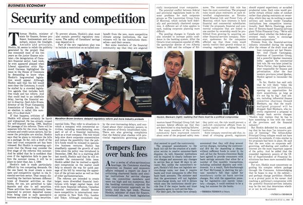 Article Preview: Security and competition, July 1988 | Maclean's