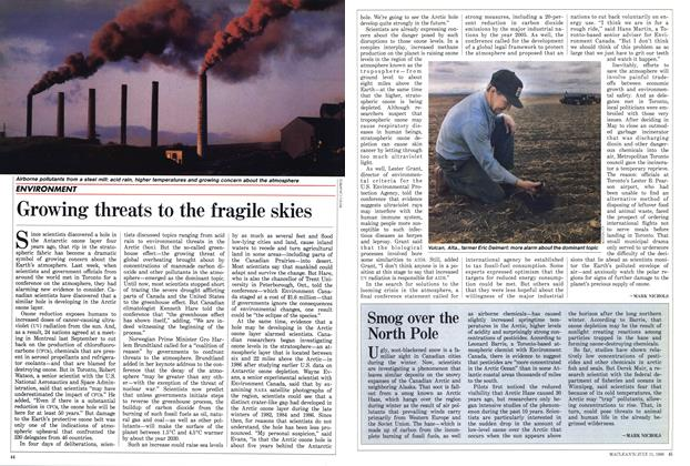 Article Preview: Smog over the North Pole, July 1988 | Maclean's