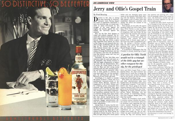 Article Preview: Jerry and Ollie's Gospel Train, July 1988 | Maclean's