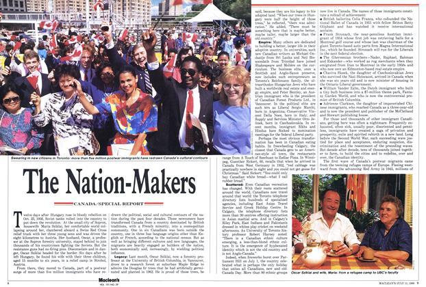 Article Preview: The Nation-Makers, July 1988 | Maclean's