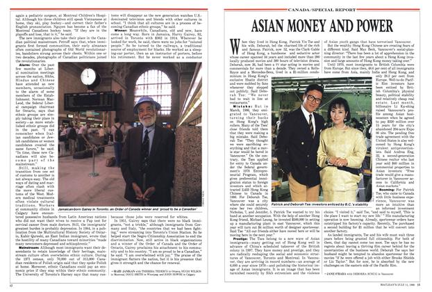 Article Preview: ASIAN MONEY AND POWER, July 1988 | Maclean's