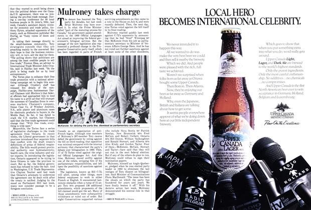 Article Preview: Mulroney takes charge, July 1988 | Maclean's
