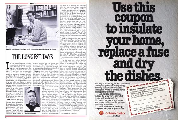 Article Preview: THE LONGEST DAYS, July 1988 | Maclean's