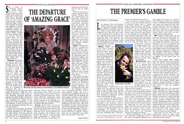 Article Preview: THE DEPARTURE OF 'AMAZING GRACE', July 1988 | Maclean's