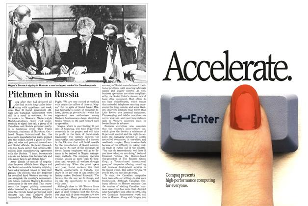 Article Preview: Pitchmen in Russia, July 1988 | Maclean's