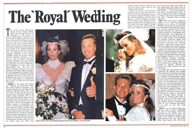 Article Preview: The 'Royal' Wedding, July 1988 | Maclean's