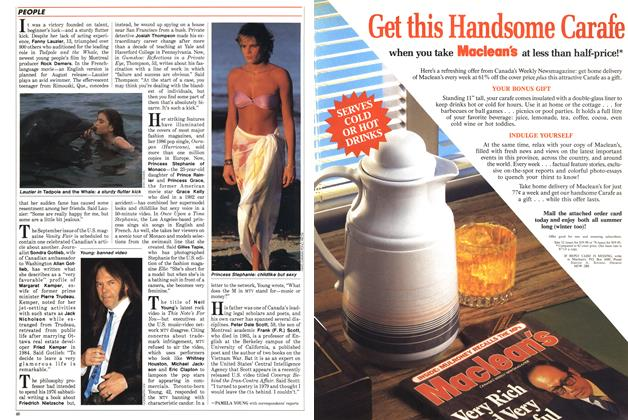 Article Preview: PEOPLE, July 1988 | Maclean's