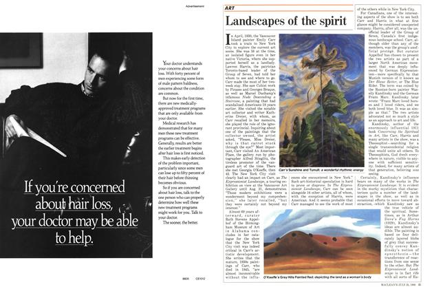Article Preview: Landscapes of the spirit, July 1988 | Maclean's