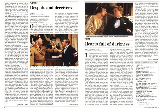 Article Preview: Hearts full of darkness, July 1988 | Maclean's