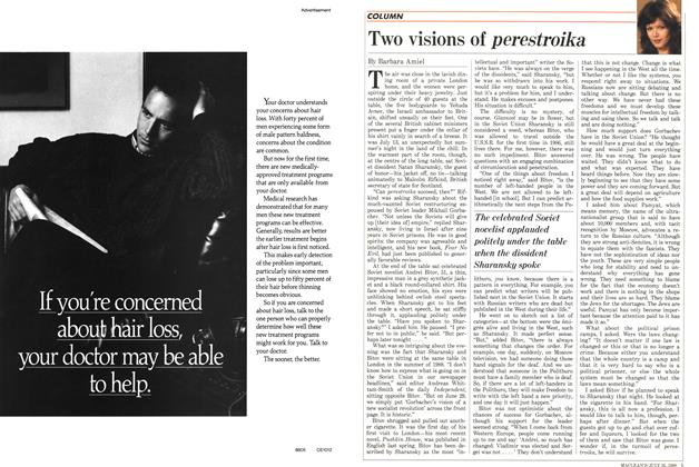 Article Preview: Two visions of perestroika, July 1988 | Maclean's