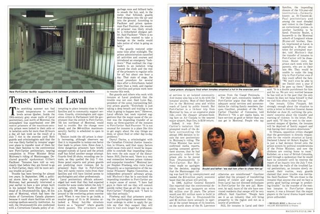 Article Preview: Tense times at Laval, July 1988 | Maclean's