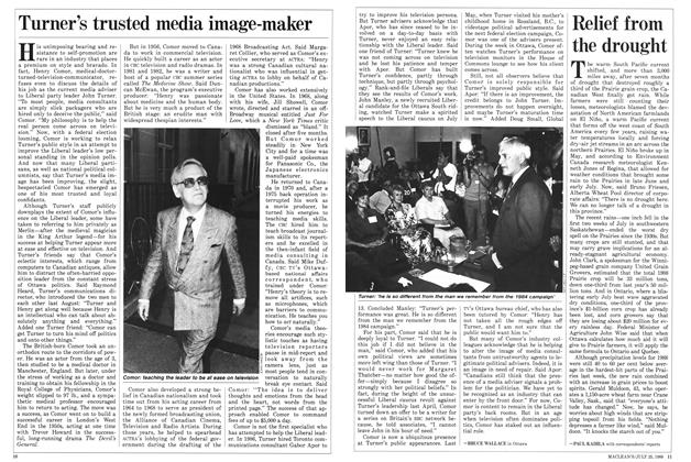 Article Preview: Turner's trusted media image-maker, July 1988 | Maclean's