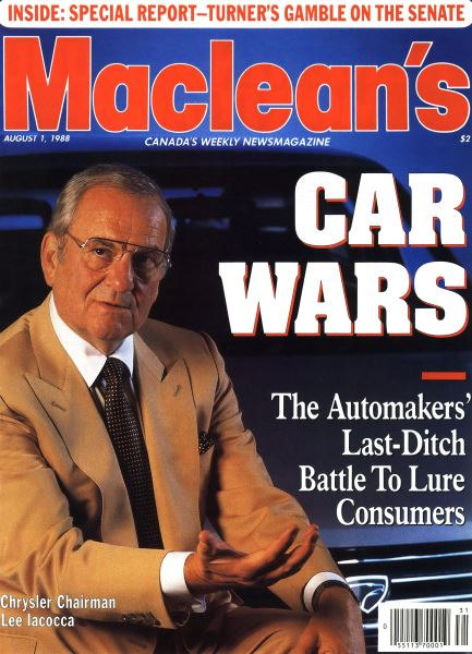 Issue: - August 1988 | Maclean's