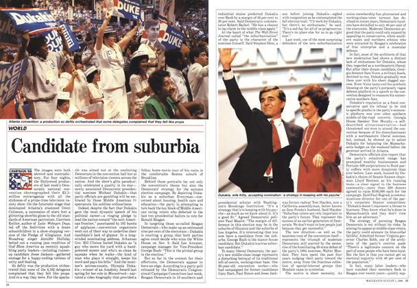 Article Preview: Candidate from suburbia, August 1988 | Maclean's