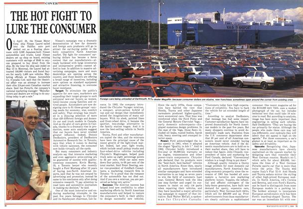 Article Preview: THE HOT FIGHT TO LURE THE CONSUMER, August 1988 | Maclean's