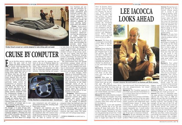 Article Preview: LEE IACOCCA LOOKS AHEAD, August 1988 | Maclean's