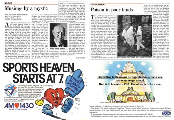 Article Preview: Musings by a mystic, August 1988 | Maclean's