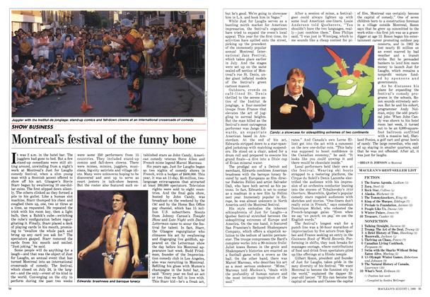 Article Preview: Montreal's festival of the funny bone, August 1988 | Maclean's
