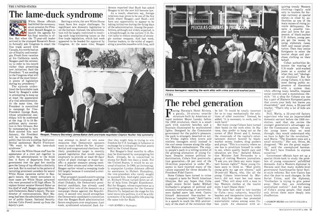 Article Preview: The rebel generation, August 1988 | Maclean's