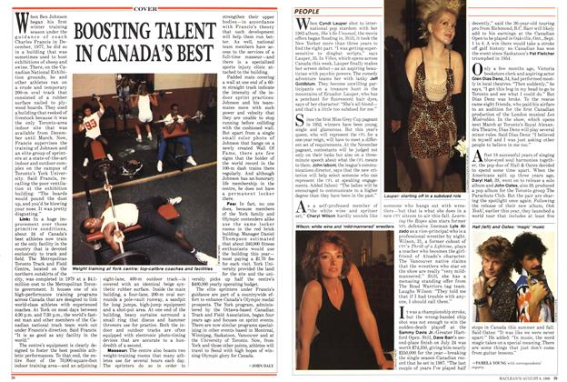 Article Preview: BOOSTING TALENT IN CANADA'S BEST, August 1988 | Maclean's