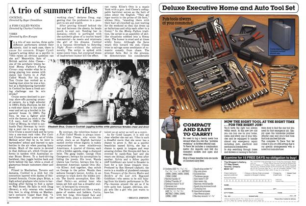 Article Preview: A trio of summer trifles, August 1988 | Maclean's