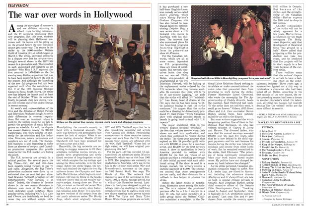 Article Preview: The war over words in Hollywood, August 1988 | Maclean's