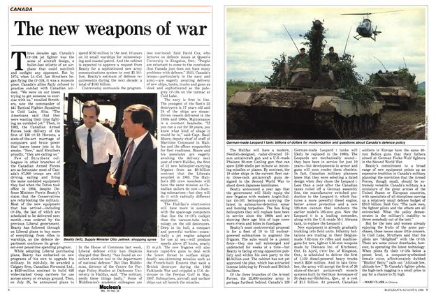 Article Preview: The new weapons of war, August 1988 | Maclean's