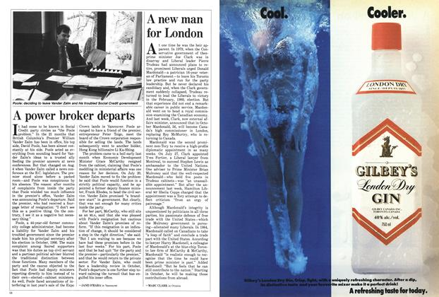 Article Preview: A power broker departs, August 1988 | Maclean's