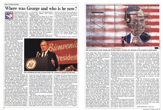 Article Preview: Where was George and who is he now?, August 1988 | Maclean's
