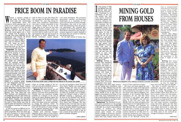 Article Preview: PRICE BOOM IN PARADISE, August 1988 | Maclean's