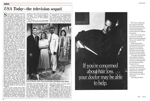 Article Preview: USA Today—the television sequel, August 1988 | Maclean's