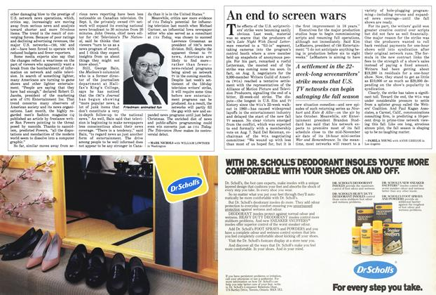 Article Preview: An end to screen wars, August 1988 | Maclean's