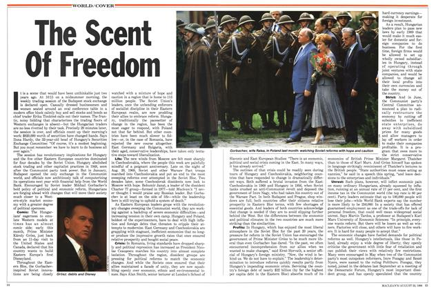 Article Preview: The Scent Of Freedom, August 1988 | Maclean's