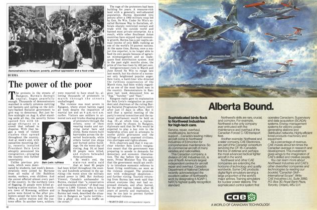 Article Preview: The power of the poor, August 1988 | Maclean's