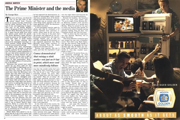 Article Preview: The Prime Minister and the media, August 1988 | Maclean's