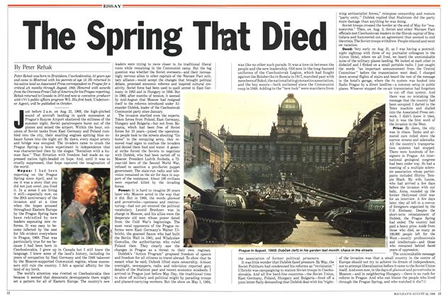Article Preview: The Spring That Died, August 1988 | Maclean's