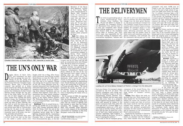 Article Preview: THE UN'S ONLY WAR, August 1988 | Maclean's