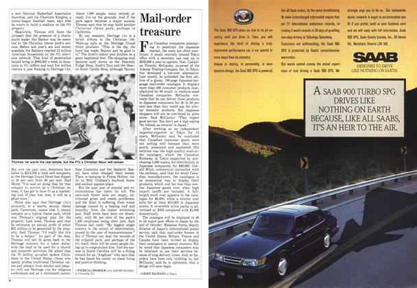 Article Preview: Mail-order treasure, August 1988 | Maclean's