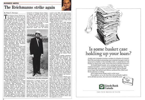 Article Preview: The Reichmanns strike again, August 1988   Maclean's