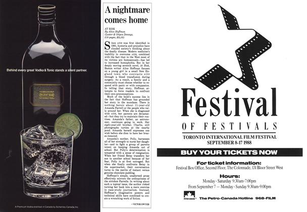 Article Preview: A nightmare comes home, August 1988 | Maclean's