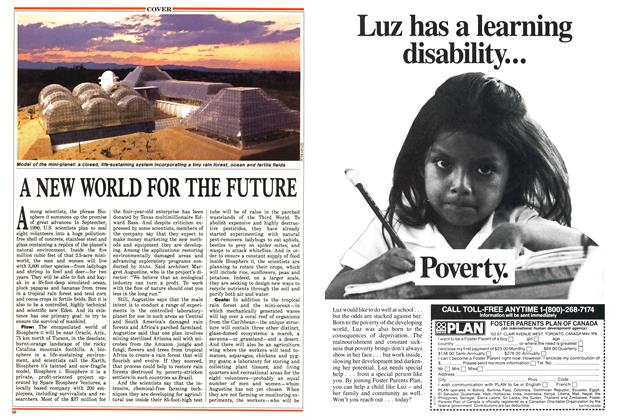 Article Preview: A NEW WORLD FOR THE FUTURE, September 1988 | Maclean's