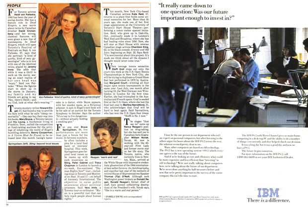 Article Preview: PEOPLE, September 1988 | Maclean's