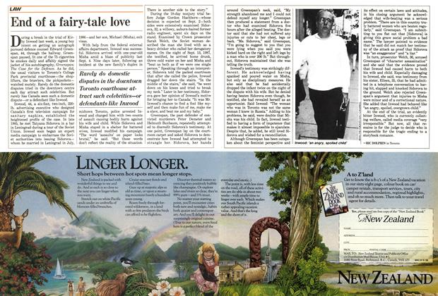 Article Preview: End of a fairy-tale love, September 1988 | Maclean's