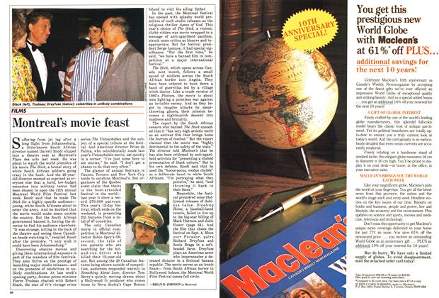 Article Preview: Montreal's movie feast, September 1988 | Maclean's