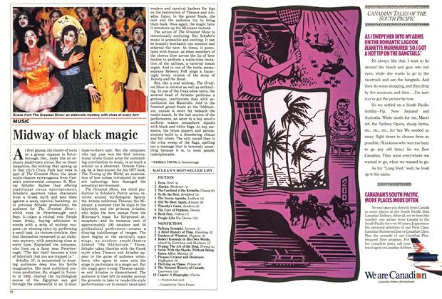 Article Preview: Midway of black magic, September 1988 | Maclean's