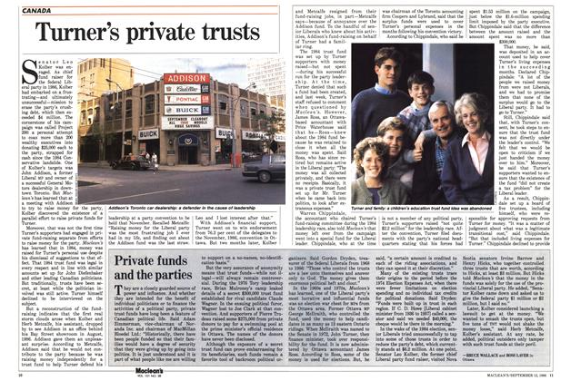 Article Preview: Turner's private trusts, September 1988 | Maclean's