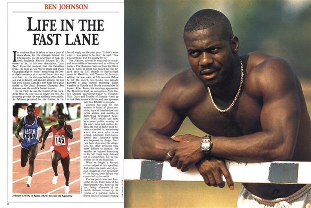 Article Preview: LIFE IN THE FAST LANE, September 1988 | Maclean's