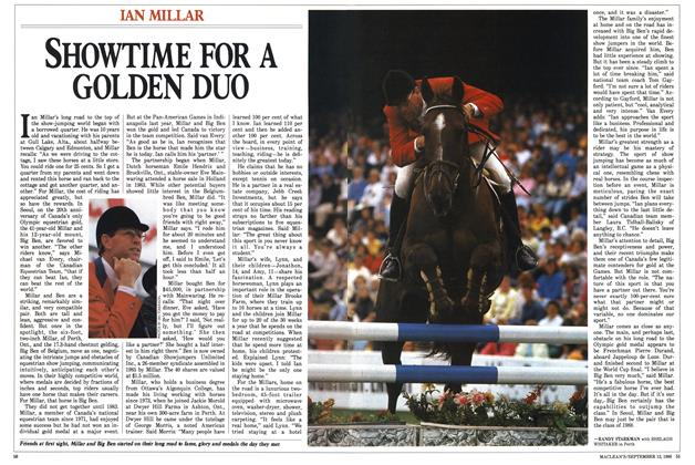 Article Preview: SHOWTIME FOR A GOLDEN DUO, September 1988 | Maclean's