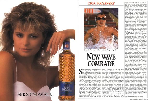 Article Preview: NEW WAVE COMRADE, September 1988 | Maclean's